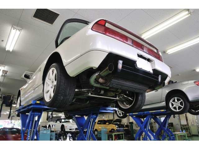 一般整備、メンテナンスに自信がある認証工場持っています